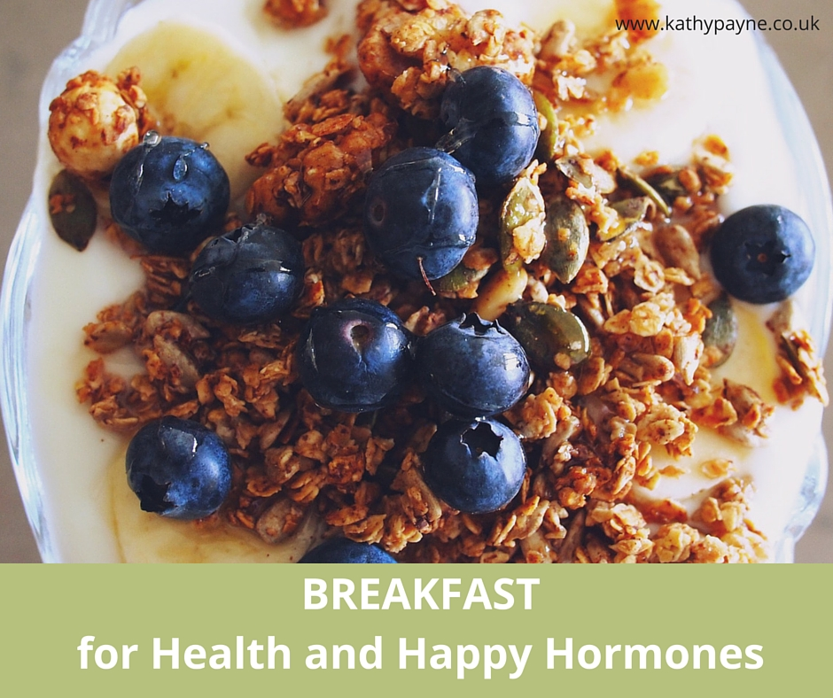 Breakfast for Health and Happy Hormones