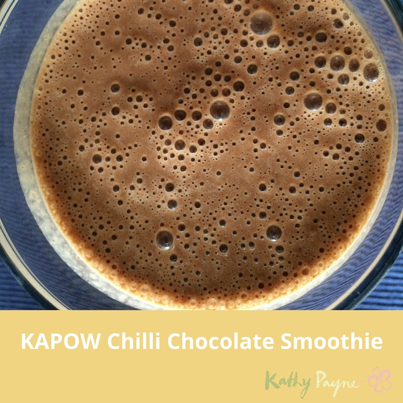 Kapow Chilli Chocolate Smoothie