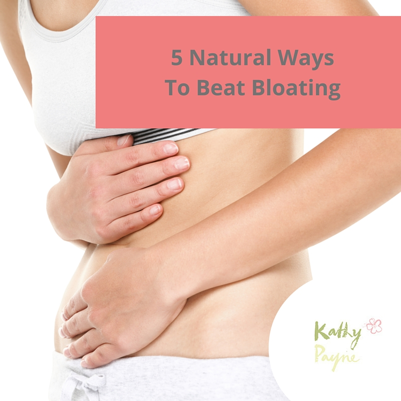 5 Natural Ways To Beat Bloating
