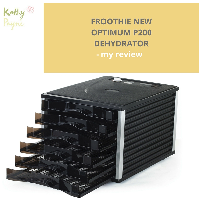Froothie Dehydrator Optimum P200 - my review