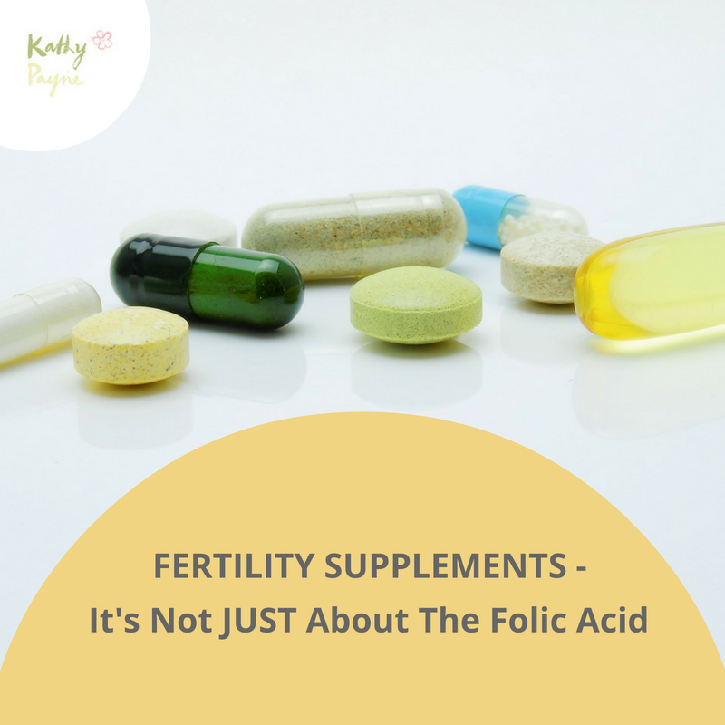 fertility supplements-its not just about the folic acid