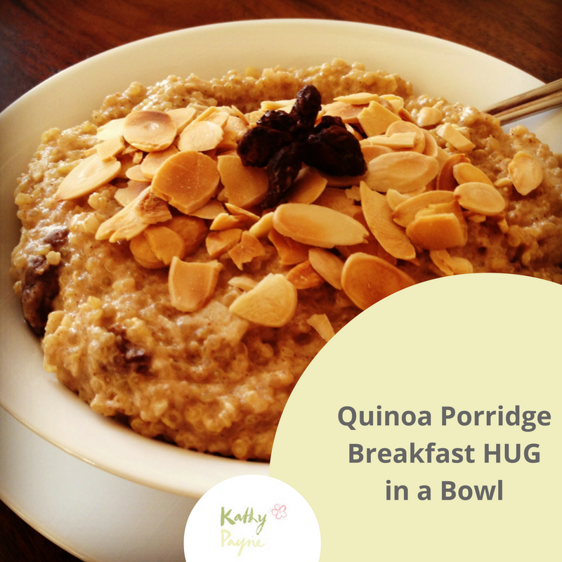 quinoa porridge breakfast hug in abowl